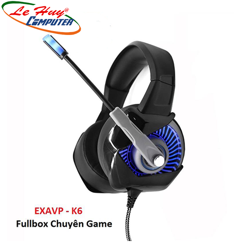 Tai nghe Gaming EXAVP K6 LED