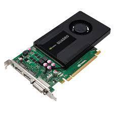 Card Màn Hình Quadro Nvidia K2000 2GB GDDR5 128Bit