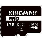 Thẻ nhớ MicroSD Kingmax CL10 PRO 128G/ U1, UHS-1, 80MB/s R - 10MB/s W, SD adaper