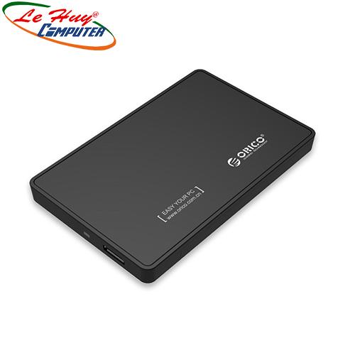 Hộp Box ổ cứng 2.5'' Orico 2588US3 Sata (3.0) (Đen)