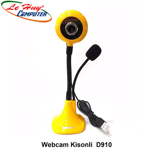 Webcam Kisonli D910