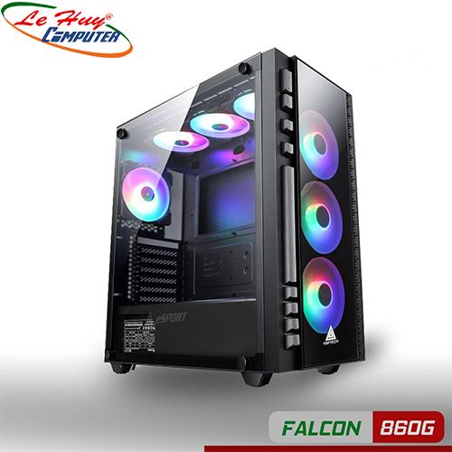 Vỏ máy tính VSP gaming FALCON 860G (chưa có FAN)