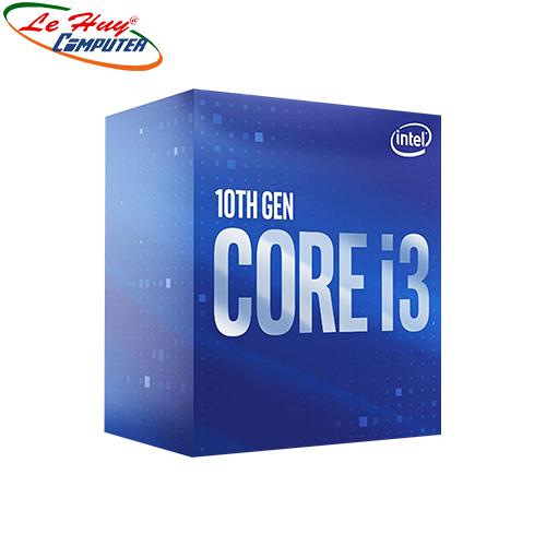 CPU Intel Core i3 10100 (4.3GHz, 4 nhân 8 luồng, 6MB) BOX CTY