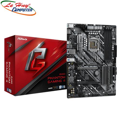 Bo Mạch Chủ - Mainboard ASROCK Z490 Phantom Gaming 4