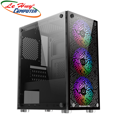 Vỏ máy tính XIGMATEK NYX 3F(3FAN X20F) (EN43057)