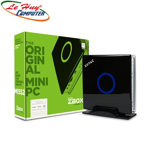 Máy Tính Bộ PC - MINI PC ZBOX MI552 PLUS  i5-7500T/4GB/SSD 120GB