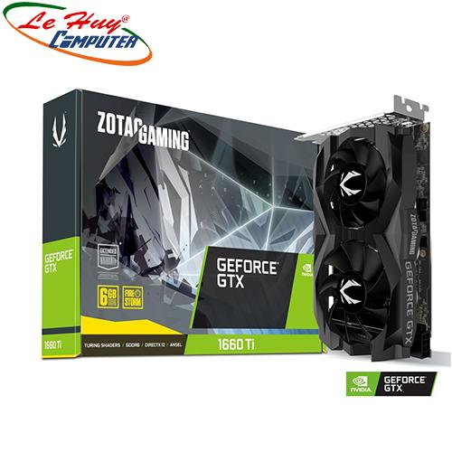 Card Màn Hình - VGA ZOTAC GAMING GeForce GTX 1660 Ti 6GB GDDR6