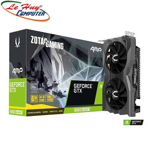 Card Màn Hình - VGA ZOTAC GAMING GeForce GTX 1660 SUPER AMP