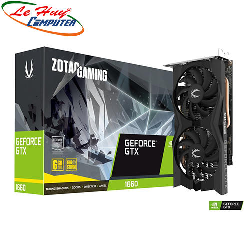 Card Màn Hình - VGA ZOTAC GAMING GeForce GTX 1660 Twin Fan