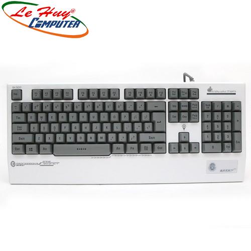 Bàn phím giả cơ Zidli GK500 PS/2/USB (Full size)
