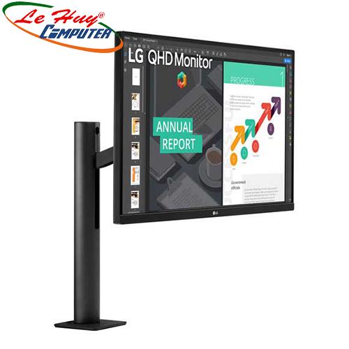 Màn hình LCD LG 27Inch 27QN880-B QHD Ergo IPS 2K