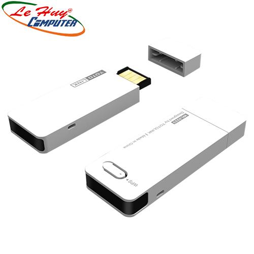 Bộ thu sóng Wifi TotoLink N300UM - USB Chuẩn N Tốc Độ 300Mbps