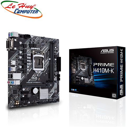 Bo Mạch Chủ - Mainboard ASUS PRIME H410M-K