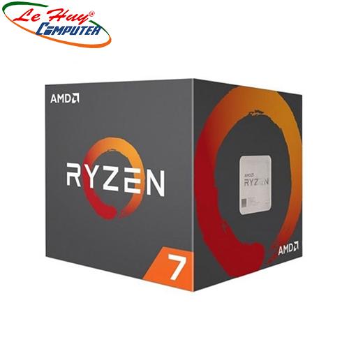CPU AMD Ryzen 7 2700X  Wraith Prism (8-core/16-thread, 3.7GHz-4.35GHz, 20MB, 105W TDP) TRAY KÈM FAN