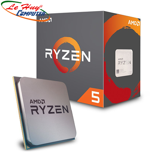 CPU AMD Ryzen 5 2600X 3.6 GHz (4.2 GHz with boost) / 19MB / 6 cores 12 threads / socket AM4