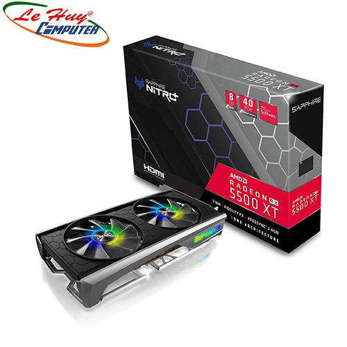 Card Màn Hình - VGA SAPPHIRE NITRO+ Radeon RX 5500XT 8GB DDR6 DUAL