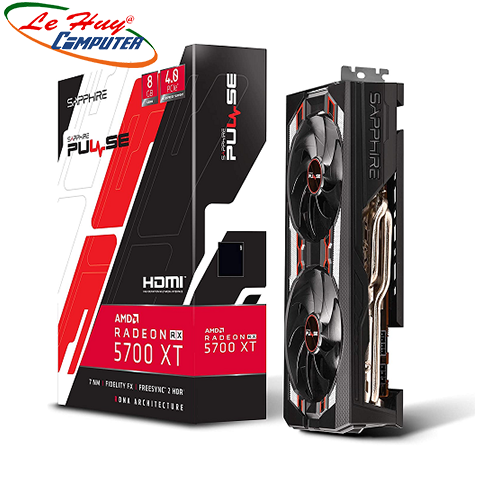Card Màn Hình - VGA SAPPHIRE PULSE Radeon RX 5700 XT 8GB DDR6