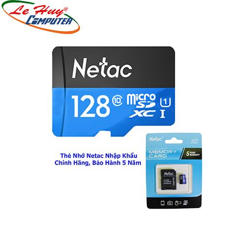 Thẻ nhớ Micro SD Netac U1 128G