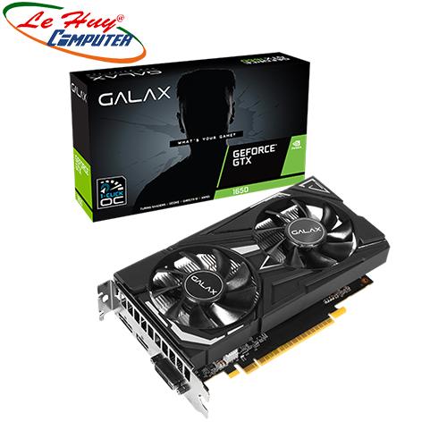 Card Màn Hình - VGA GALAX GeForce GTX 1650 EX (1-Click OC) GDDR6