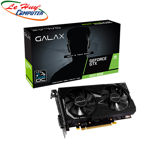 Card Màn Hình - VGA GALAX GeForce GTX 1650 Super EX (1-Click OC) 4GB GDDR6