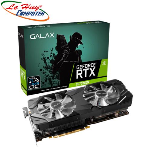 Card Màn Hình - VGA GALAX GeForce RTX 2070 Super EX (1-Click OC) 8GB GDDR6