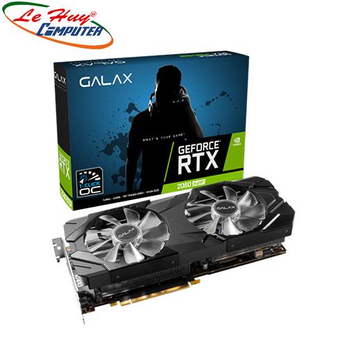 Card Màn Hình - VGA GALAX GeForce RTX 2080 Super EX (1-Click OC) 8GB GDDR6