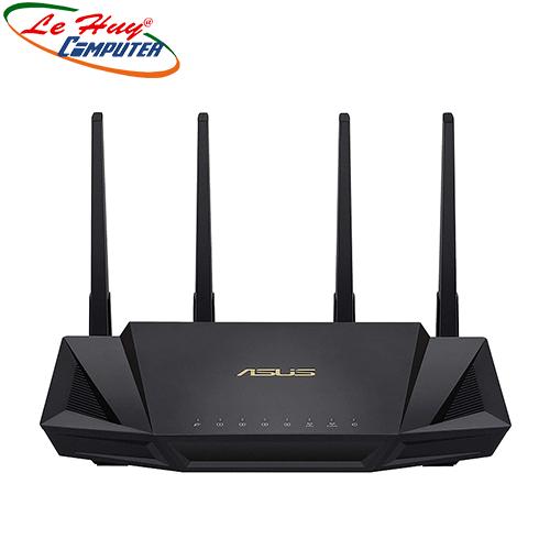 Thiết bị mạng - Router Wifi ASUS RT-AX58U Chuẩn AX3000 Dual Band WiFi 6