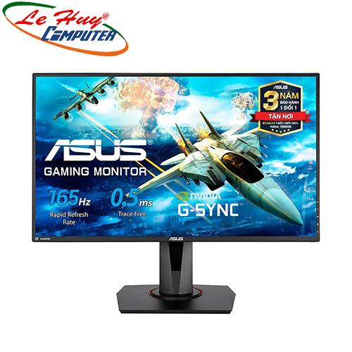 Màn hình LCD Asus VG278QR 27Inch 165Hz 0.5ms FreeSync G-SYNC Compatible