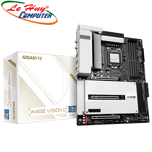 Bo Mạch Chủ - Mainboard GIGABYTE W480 VISION D Socket 1200