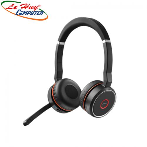 Tai nghe không dây Jabra Evolve 75 headset UC Stereo