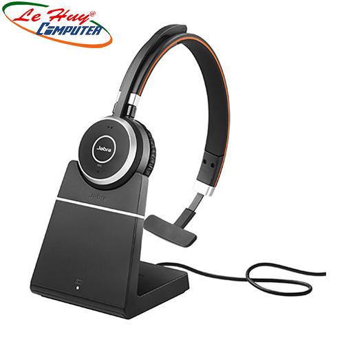 Tai nghe không dây Jabra Evolve 65 incl charging stand UC Mono