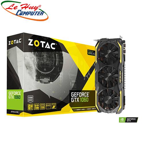 Card Màn Hình - VGA ZOTAC GeForce GTX 1060 6GB GDDR5