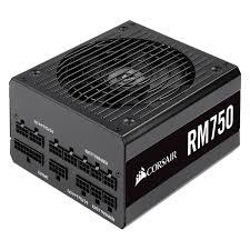 Nguồn máy tính Corsair RM750 V2019 80 Plus Gold - Full Modul - CP-9020195-NA