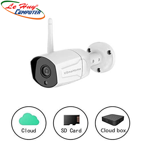 CAMERA IP WiFi VSMAHOME S1X 2.0MP