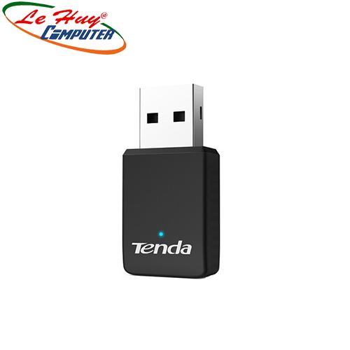 USB THU WIFI TENDA U9 AC650 MINI BĂNG TẦN KÉP