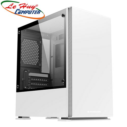 Vỏ máy tính XIGMATEK NYC ARTIC WHITE (EN45716) - PREMIUM GAMING M-ATX