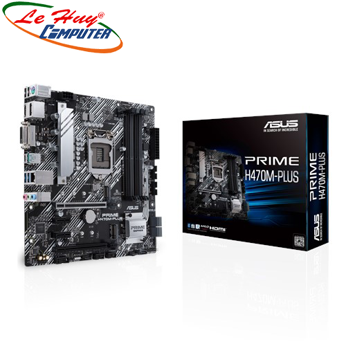 Bo Mạch Chủ - Mainboard ASUS PRIME H470M-PLUS