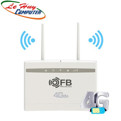 Bộ phát WIFI 4G LTE FB-LINK CPE-V01 (2 ANTEN - CHUYÊN DÙNG XE KHÁCH - 32 USER - 3 PORT)