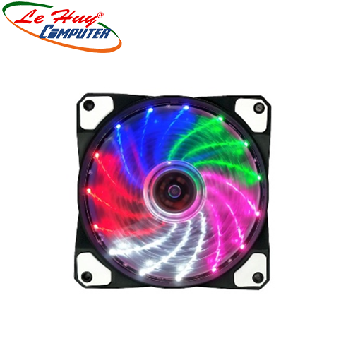 Fan case Golden Field 12cm LED Rainbow