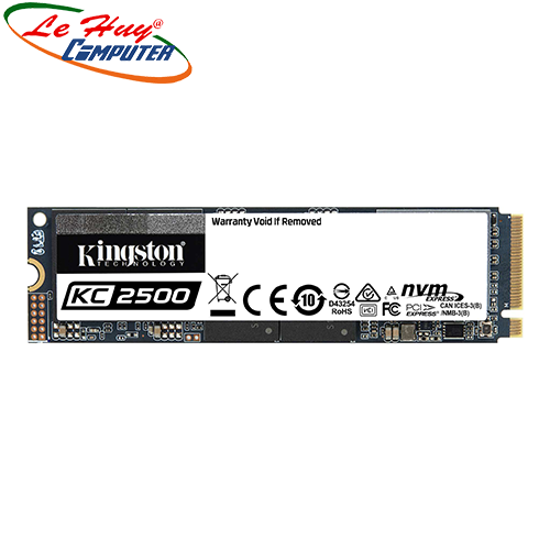 Ổ cứng SSD Kingston KC2500 250GB NVMe M.2 2280 PCIe Gen 3x4