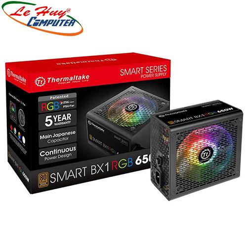 Nguồn máy tính Thermaltake Smart BX1 RGB 650W-Bronze (PS-SPR-0650NHSABx-1)