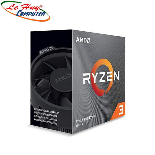 CPU AMD RYZEN 3 Pro 4350G Renoir (3.8GHz Up to 4.0GHz, AM4, 4 Cores 8 Threads)- chưa Fan