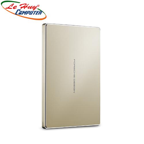 Ổ cứng di động HDD LaCie Porsche Design P9227 2TB USB C (Vàng)