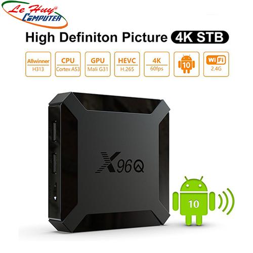 TIVI Box ALLWINNER X96Q H313 RAM 2GB/16GB/4K Android10