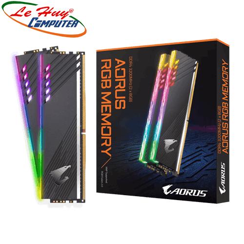 Ram DDR4 Gigabyte AORUS RGB (GP-ARS16G32) 16GB (2x8GB) DDR4 3200Mhz