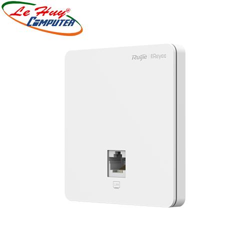 Thiết bị mạng - Router Wi-Fi RUIJIE RG-RAP1200(F) AC1300 Dual Band Wall-plate