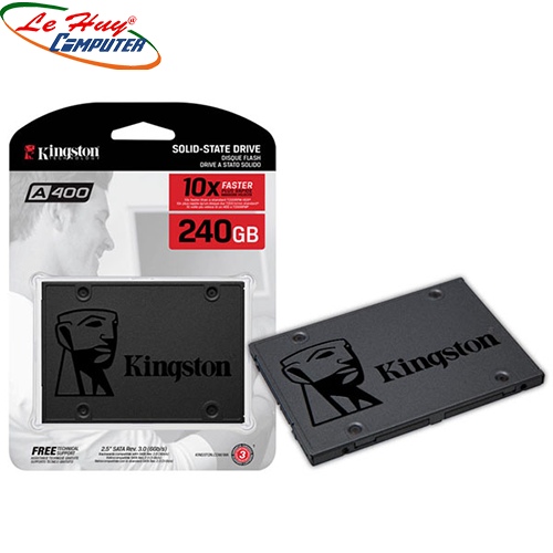 Ổ Cứng SSD Kingston 240GB SA400 Sata 3