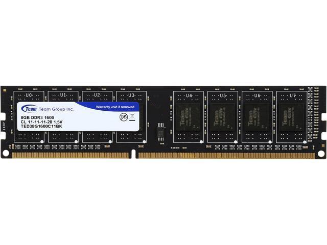 Ram Máy Tính DDR3 TEAM 4G/1600 VALUE CH