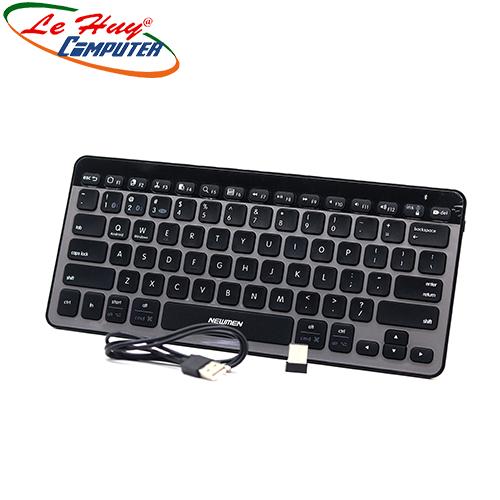 Bàn phím không dây Newmen BT713 (2.4G+ Bluetooth)