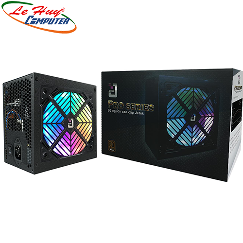 Nguồn máy tính Jetek P500 500W Led RGB